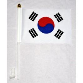 차량용 태극기 + 깃대 (포함)