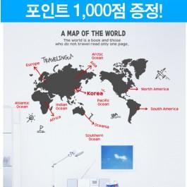 여행 세계지도