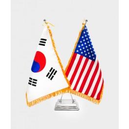 탁상용멕기 2구+수술 깃발 세트