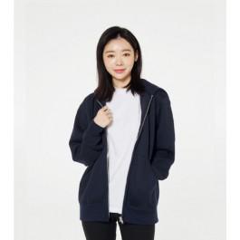드라이 기모 후드 집업 00348-AFZ (티셔츠+프린팅 1도인쇄)