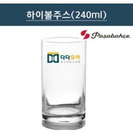 [투명유리] 하이볼 주스잔